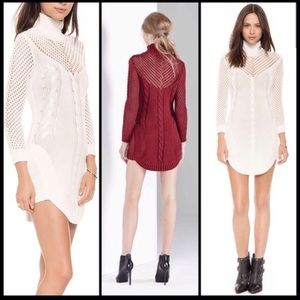 Blessed are the Meek Sweater Dress